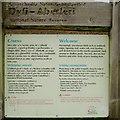 SN6192 : Welcome sign, Dyfi – Aberleri National Nature Reserve, Ynyslas by Robin Stott