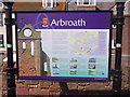 NO6440 : Tourist Information, Arbroath by Stanley Howe