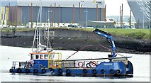 "J3475 : The ""Garmoyle"", Belfast (July 2015) by Albert Bridge"