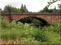 NS5666 : Kelvin Way bridge by Richard Sutcliffe