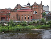 NS5666 : Partick Sewage Pumping Station by Richard Sutcliffe