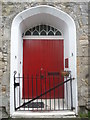 NT1378 : South Queensferry Townscape : Doorway of The Old Parish Church by Richard West