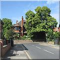 SK5641 : Sherwood Rise: Watson Fothergill's Turret House by John Sutton