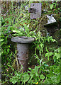 SD4780 : Old water pump by Throughs Lane, Storth (2) by Karl and Ali