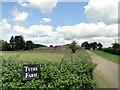 TF8322 : Tythe Farm, at Weasenham St. Peter by Adrian S Pye