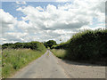 TF8527 : The road past the old chalk pit and lime works, East Rudham by Adrian S Pye