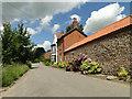 TF8724 : Manor farm on West Raynham Road by Adrian S Pye