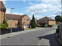 TQ6889 : Houses on Chancel Close, Laindon by Robin Webster