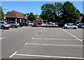 SP5721 : Tesco superstore and car park, Bicester by Jaggery