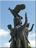 SK1814 : The Polish Forces War Memorial by Graham Hogg