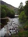 NN1862 : River Leven at Kinlochmore by Malc McDonald