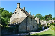 SP1106 : Arlington Row, Bibury, Gloucestershire by Oswald Bertram