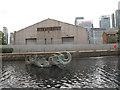 TQ3880 : Sculpture in water by Stephen Craven