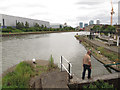 TQ3882 : Bow Creek at high tide by Stephen Craven