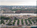 TQ3879 : View across the North Greenwich Peninsula by Stephen Craven