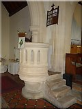 SS6644 : Christ Church, Parracombe: pulpit by Basher Eyre