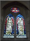 SS6644 : Christ Church, Parracombe: stained glass window (ii) by Basher Eyre