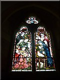 SS6644 : Christ Church, Parracombe: stained glass window (iv) by Basher Eyre