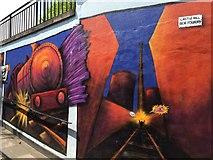 SJ8446 : Newcastle-under-Lyme: Bridge Street Subway (1) by Jonathan Hutchins