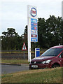 TL8820 : Esso Fuel Filling Station sign at Feering by Adrian Cable