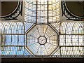 SJ8398 : Barton Arcade - Glass Roof and Dome by David Dixon