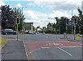 SJ9132 : Traffic lights on Lichfield Road by Mat Fascione
