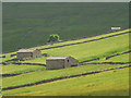 SD8677 : Harrop Barns above Cosh Beck by Karl and Ali