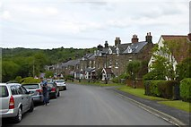 NZ7805 : Terraced stone houses, Carr End, Glaisdale by David Smith