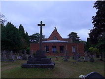 SU8363 : St John the Baptist, Crowthorne: mid July 2015 by Basher Eyre