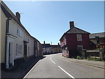 TM1473 : B1117 Castle Street, Eye by Adrian Cable