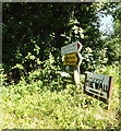 TM1072 : Signs at the road junction by Adrian Cable