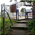 ST6180 : Welcome to Patchway railway station by Jaggery