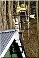 SO5306 : Diamond Jubilee weather vane on Whitebrook Village Hall by Jaggery