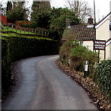 SO5206 : Caution - concealed entrance, Whitebrook by Jaggery