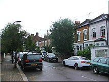 TQ3386 : Brodia Road, Stoke Newington by Chris Whippet