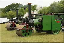 SU6479 : Couple of Steam Rollers by Bill Nicholls