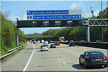 TQ2352 : 1 mile to Junction 8, M25 by N Chadwick
