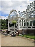 SJ3787 : Entrance  to  the  Palm  House  Sefton  Park by Martin Dawes