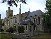 TQ0464 : St Paul, Addlestone: mid July 2015 by Basher Eyre