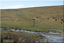 SD8965 : Pennine Way finger post by N Chadwick