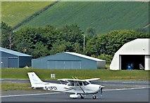 J4972 : G-UFCI, Newtownards Airport (July 2015) by Albert Bridge