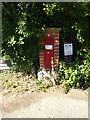 TM1668 : Bedingfield Road Victorian Postbox by Adrian Cable