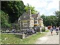 TQ0107 : Swanbourne Lodge Tearooms by Paul Gillett
