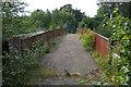 SU8953 : Disused railway bridge, Ash by Alan Hunt