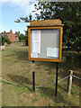 TG1313 : Ringland Village Notice Board by Adrian Cable
