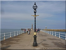 NZ8911 : Whitby Townscape : West Pier by Richard West