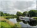 NH6543 : Caledonian Canal below Tomnahurich Bridge by Julian Paren