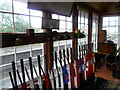 TG1141 : Inside the signalbox at Weybourne station by Marathon