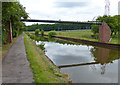 SJ8841 : Pipebridge crossing the Trent & Mersey Canal in Trentham by Mat Fascione