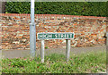 TG1924 : High Street sign by Geographer